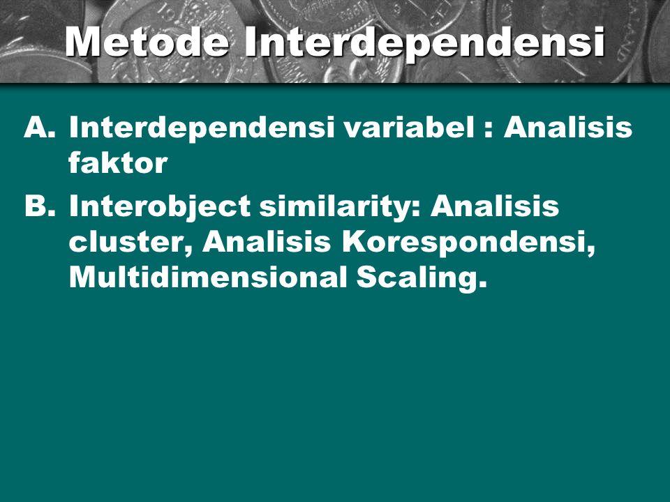 Metode Interdependensi