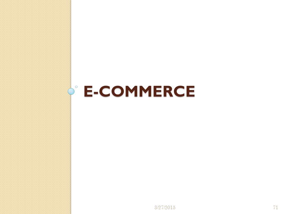 E-Commerce 4/8/2017