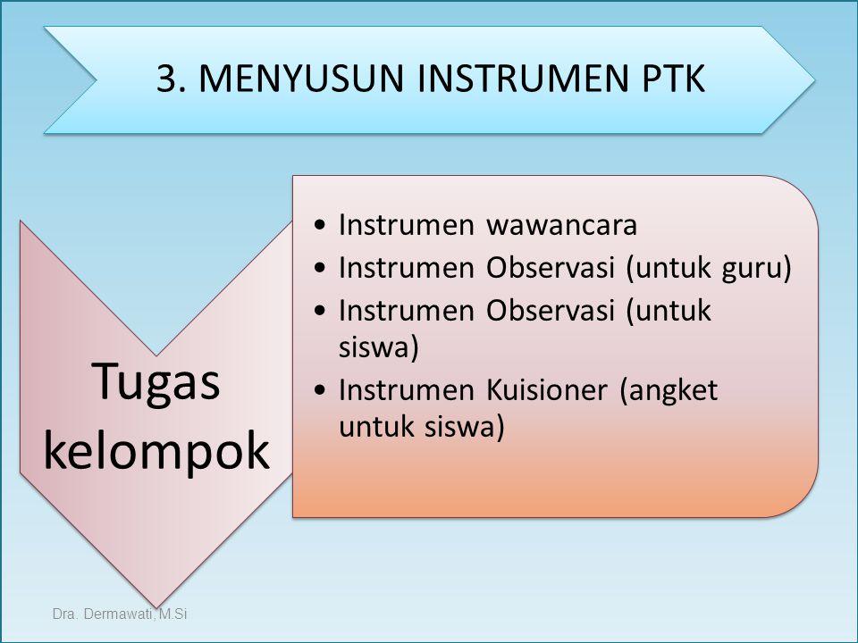 3. MENYUSUN INSTRUMEN PTK