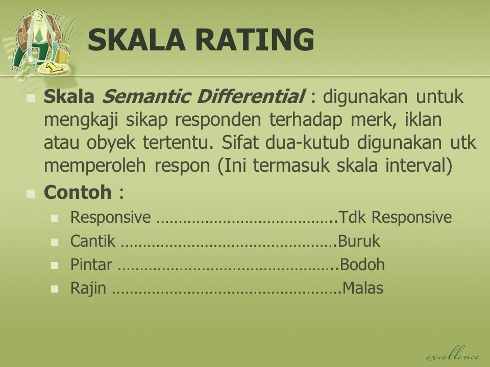 SKALA RATING