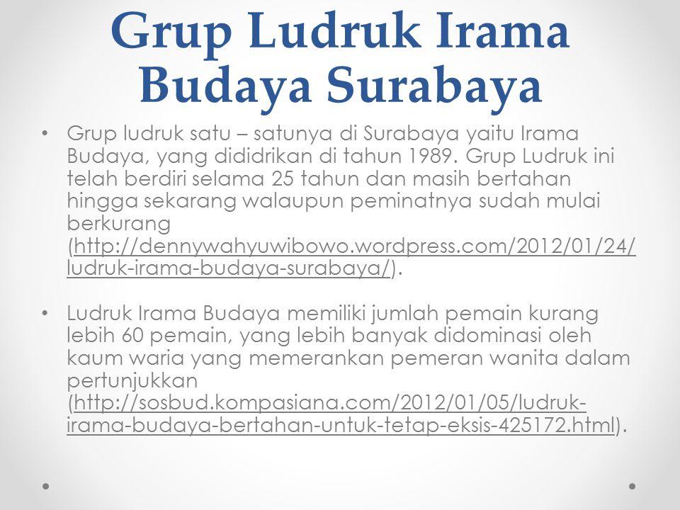 Grup Ludruk Irama Budaya Surabaya
