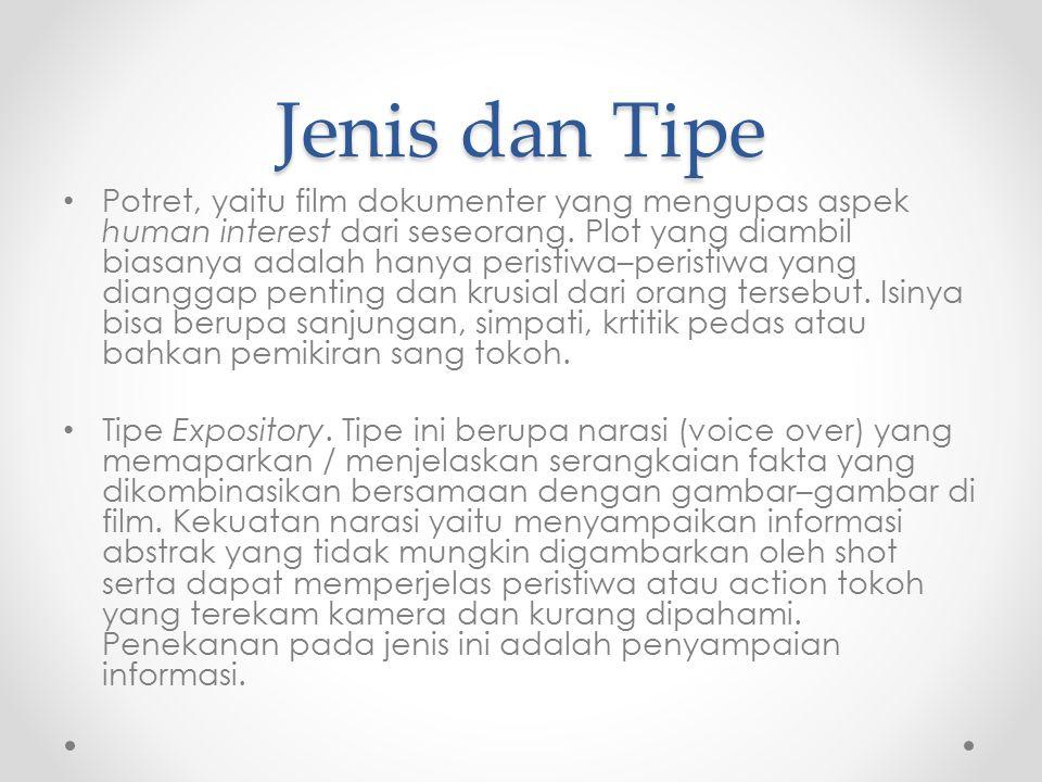 Jenis dan Tipe