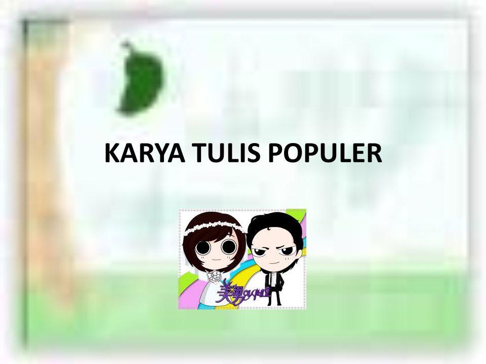 KARYA TULIS POPULER