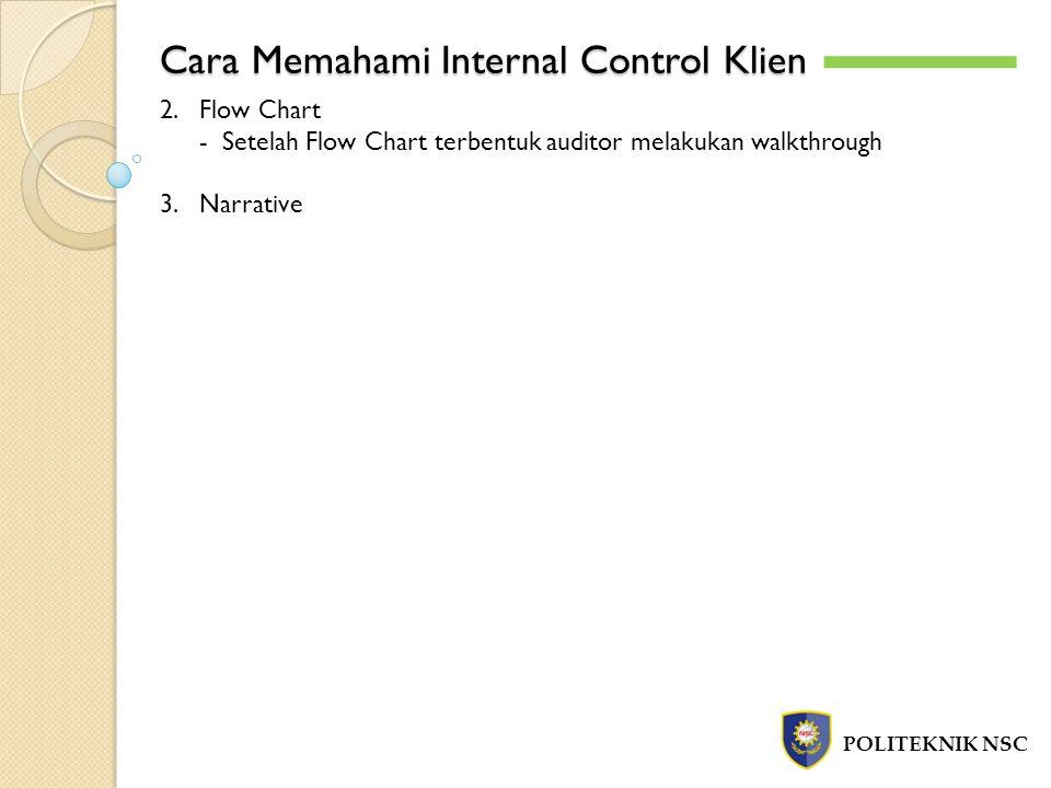 Cara Memahami Internal Control Klien