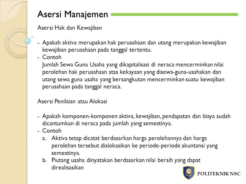 Asersi Manajemen Asersi Hak dan Kewajiban