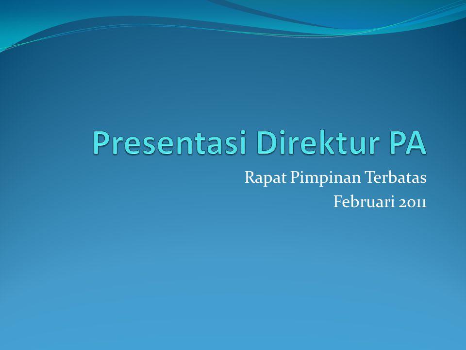 Presentasi Direktur PA
