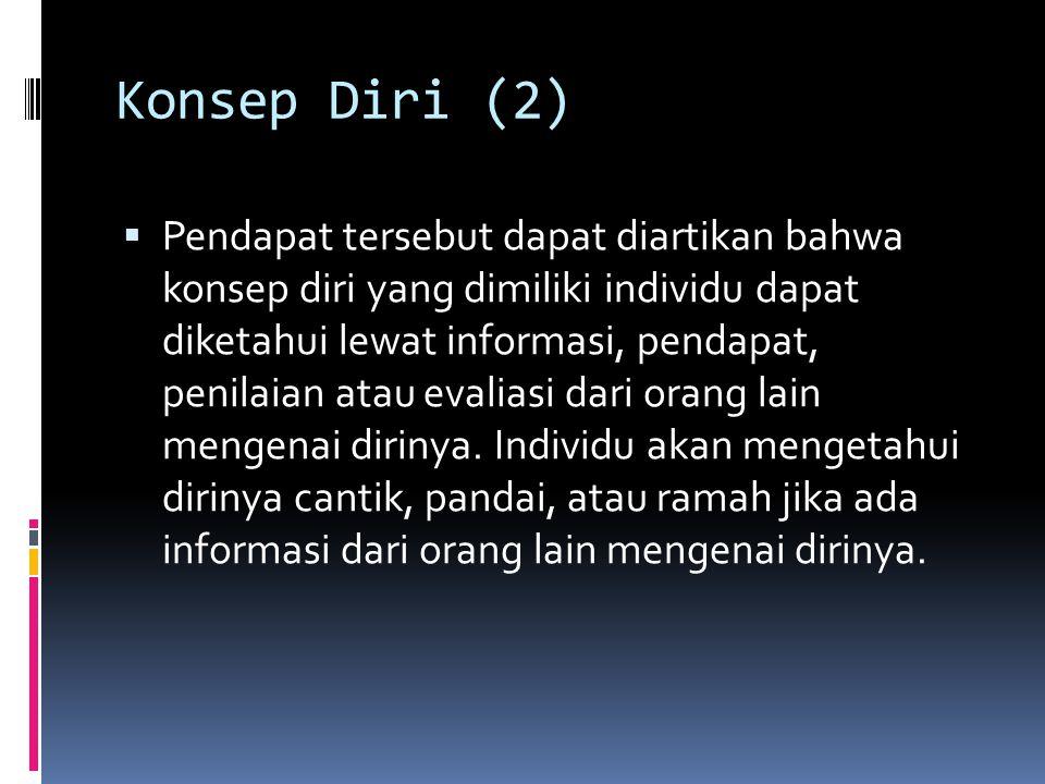 Konsep Diri (2)