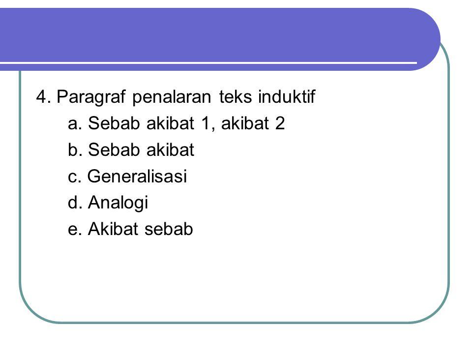4. Paragraf penalaran teks induktif