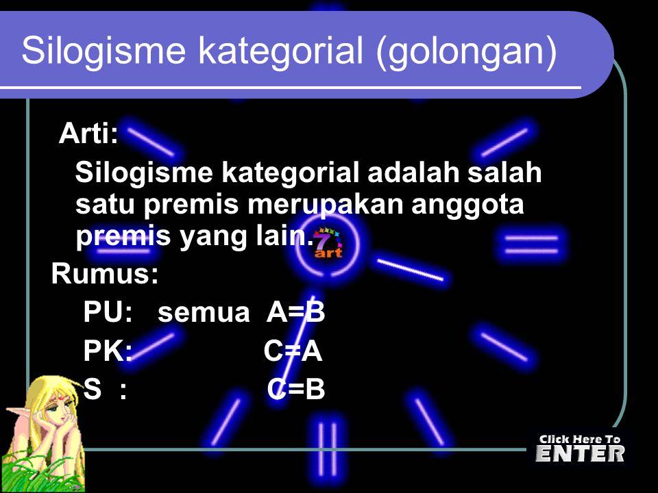 Silogisme kategorial (golongan)