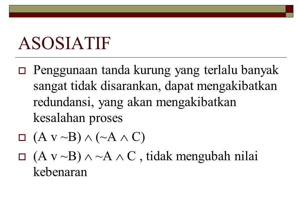 ASOSIATIF