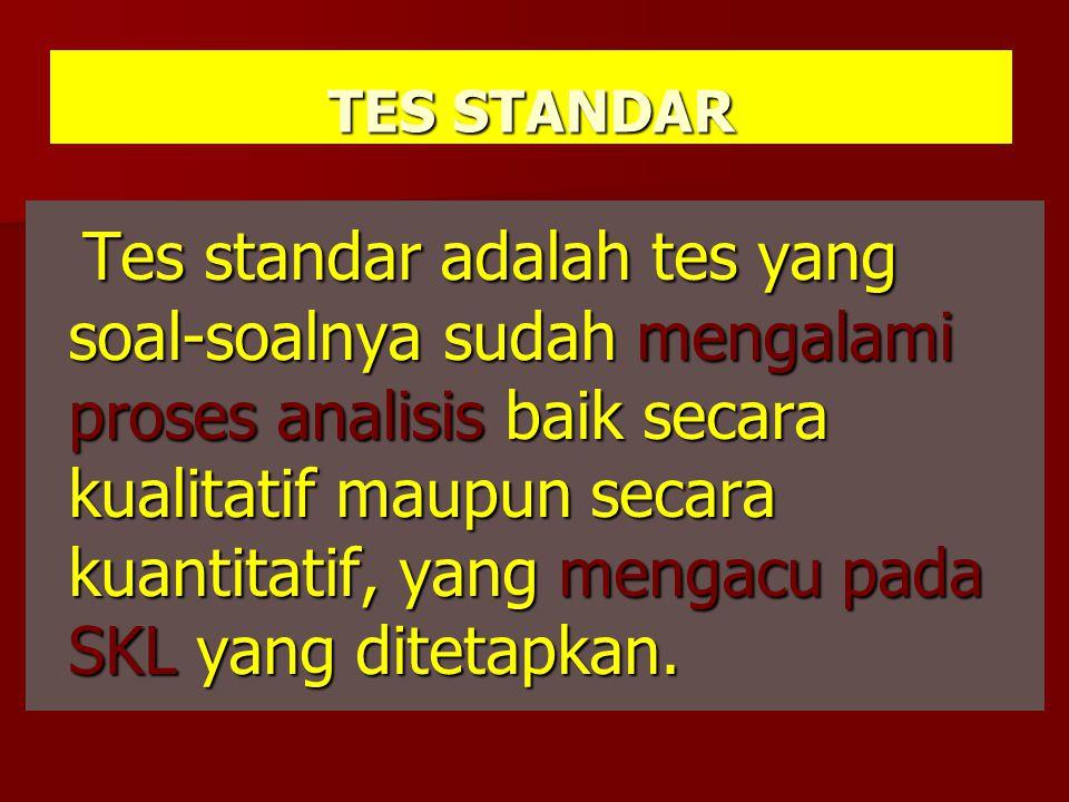 TES STANDAR