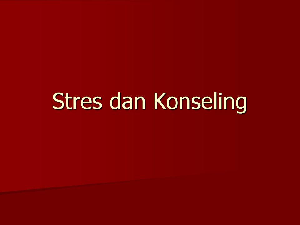 Stres dan Konseling