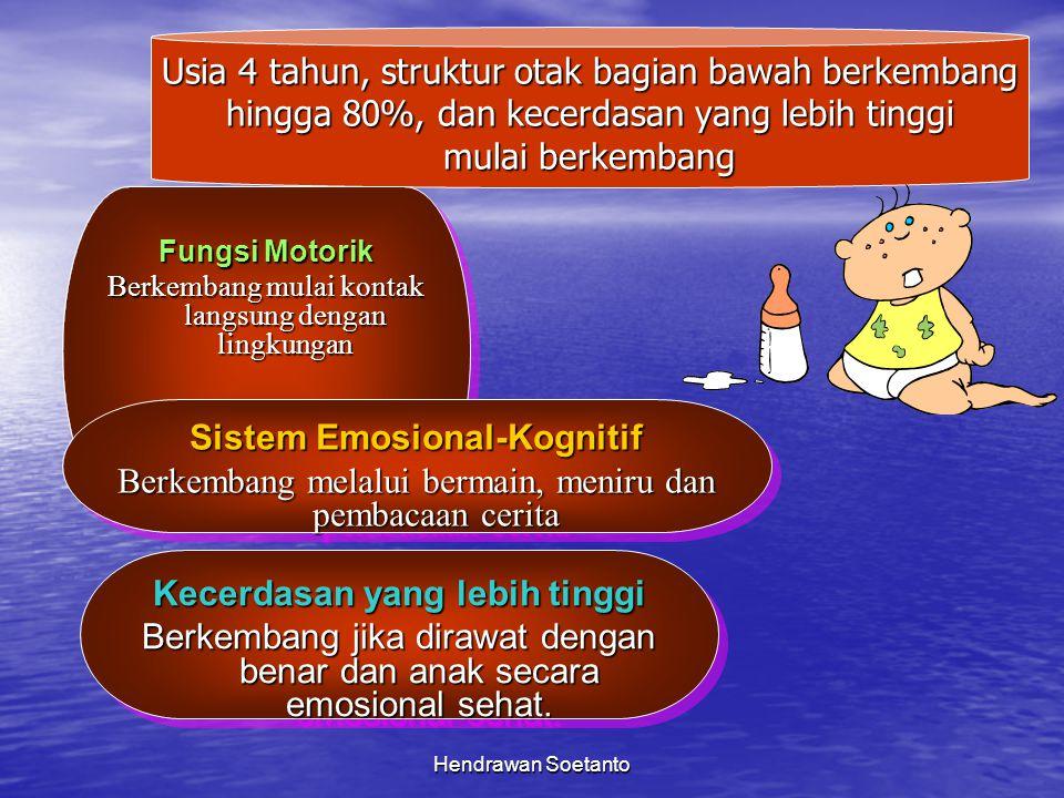 Sistem Emosional-Kognitif Kecerdasan yang lebih tinggi