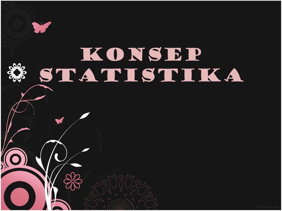 Konsep statistikA