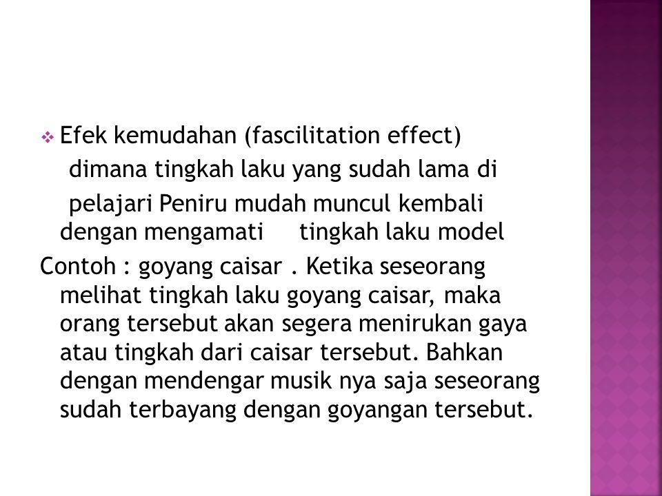 Efek kemudahan (fascilitation effect)