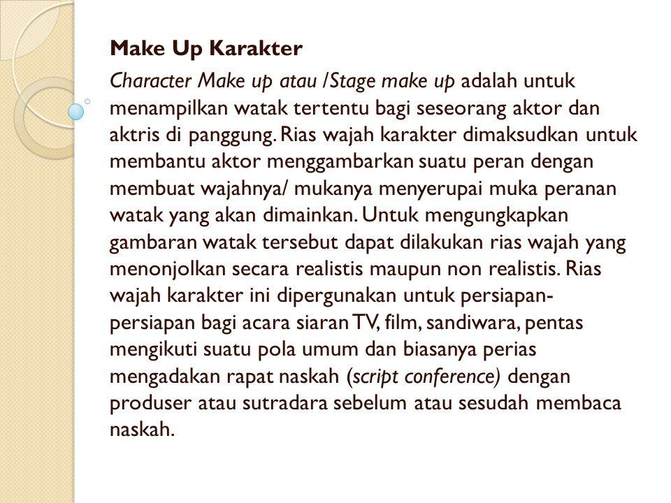 Make Up Karakter
