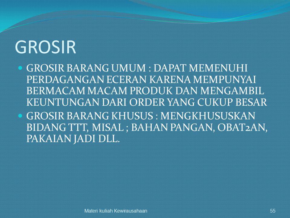 GROSIR