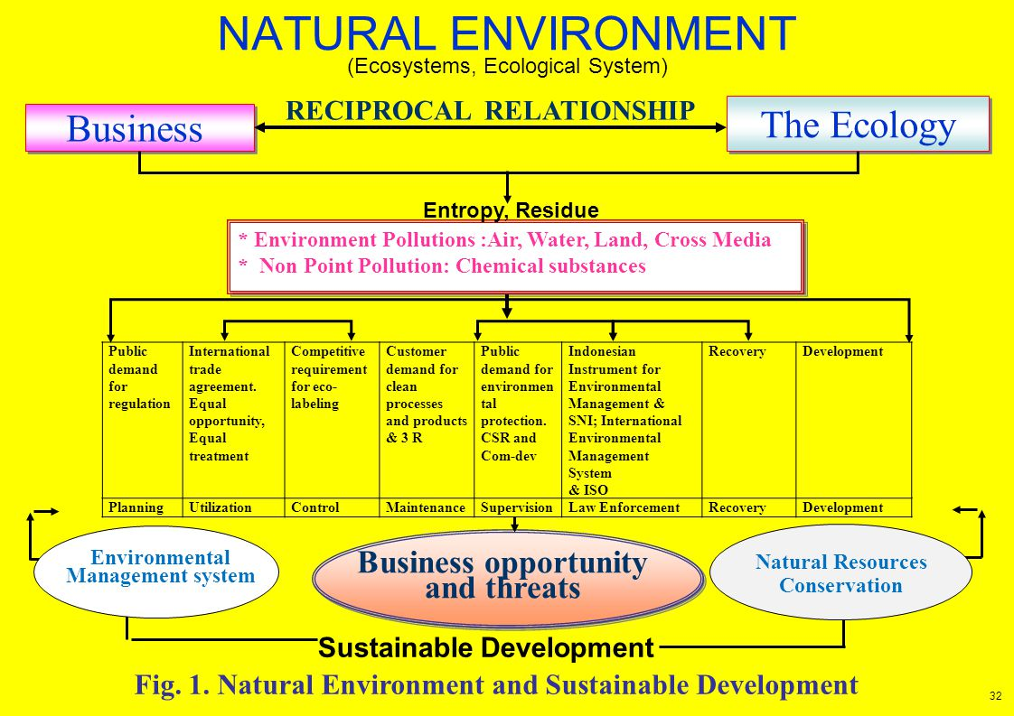 RECIPROCAL RELATIONSHIP Sustainable Development