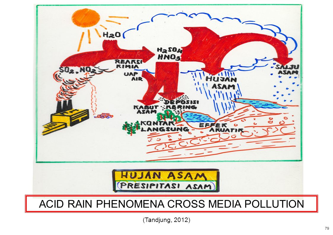 ACID RAIN PHENOMENA CROSS MEDIA POLLUTION