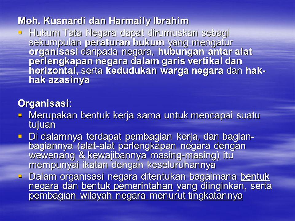 Moh. Kusnardi dan Harmaily Ibrahim