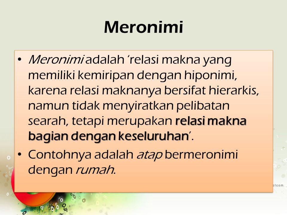 Meronimi