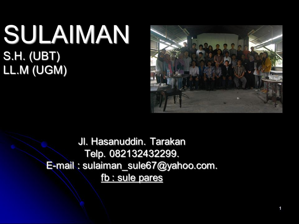 E-mail : sulaiman_sule67@yahoo.com.