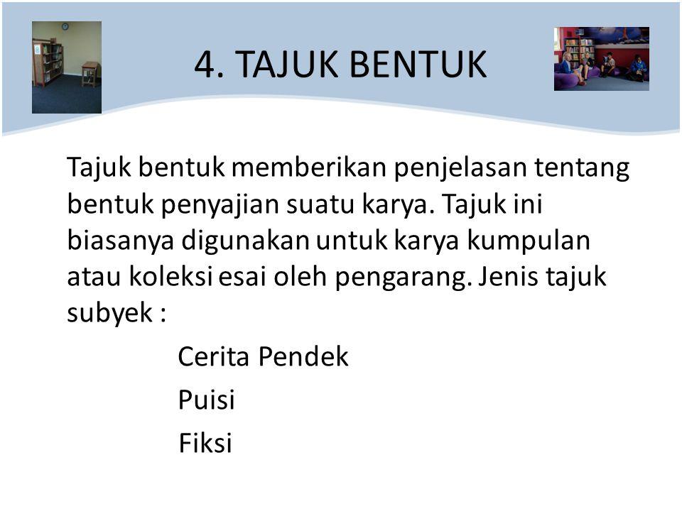 4. TAJUK BENTUK
