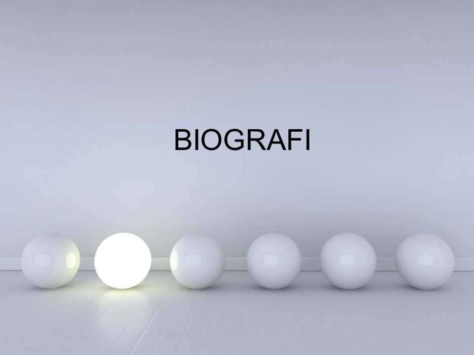 BIOGRAFI Powerpoint Templates