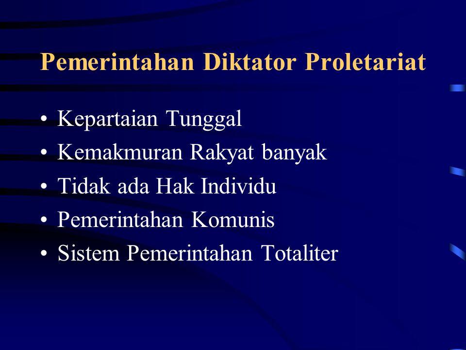Pemerintahan Diktator Proletariat