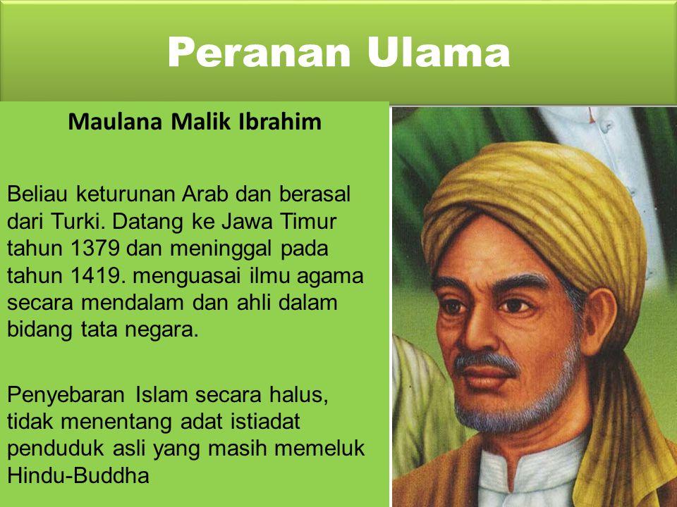 Peranan Ulama Maulana Malik Ibrahim