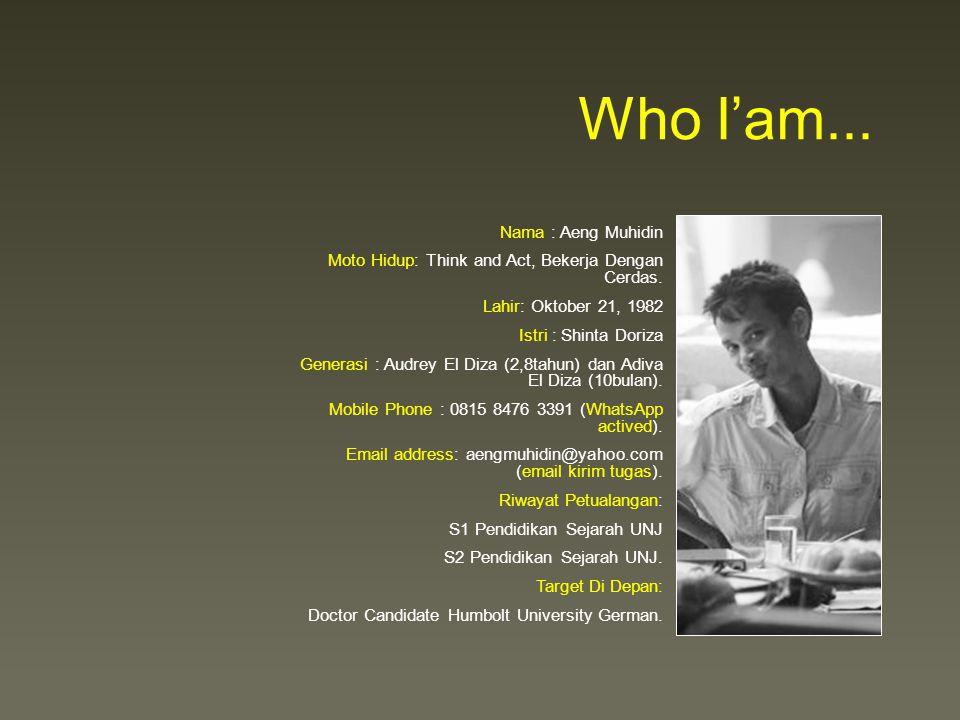Who I'am...