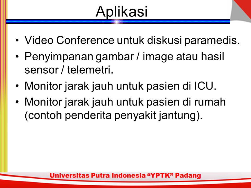 Aplikasi Video Conference untuk diskusi paramedis.