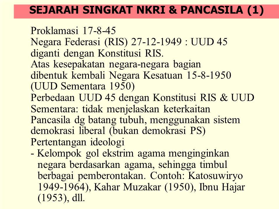 SEJARAH SINGKAT NKRI & PANCASILA (1)