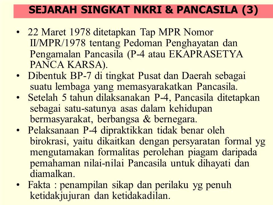 SEJARAH SINGKAT NKRI & PANCASILA (3)