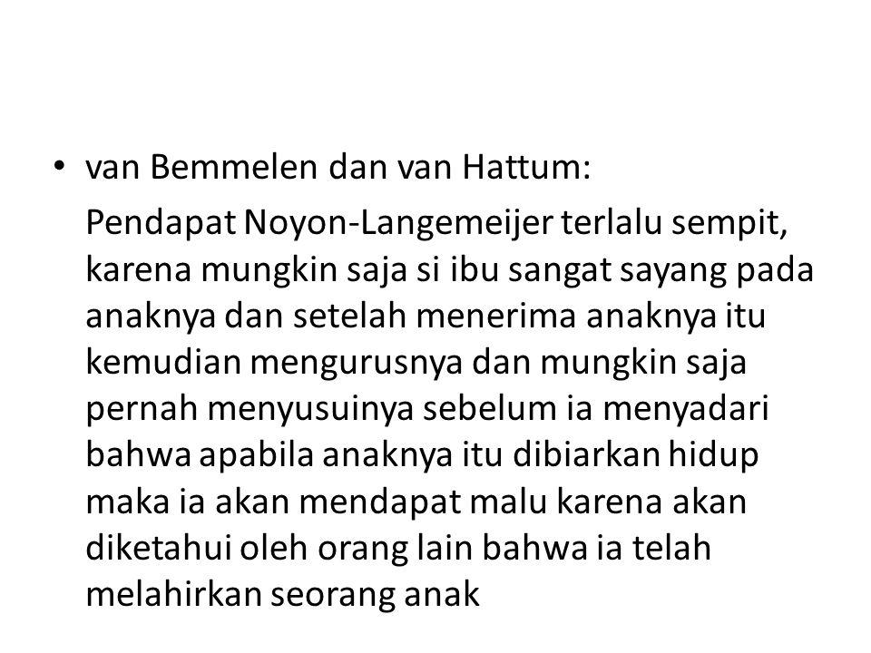 van Bemmelen dan van Hattum: