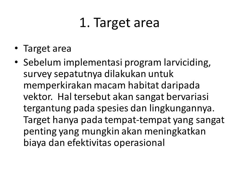 1. Target area Target area
