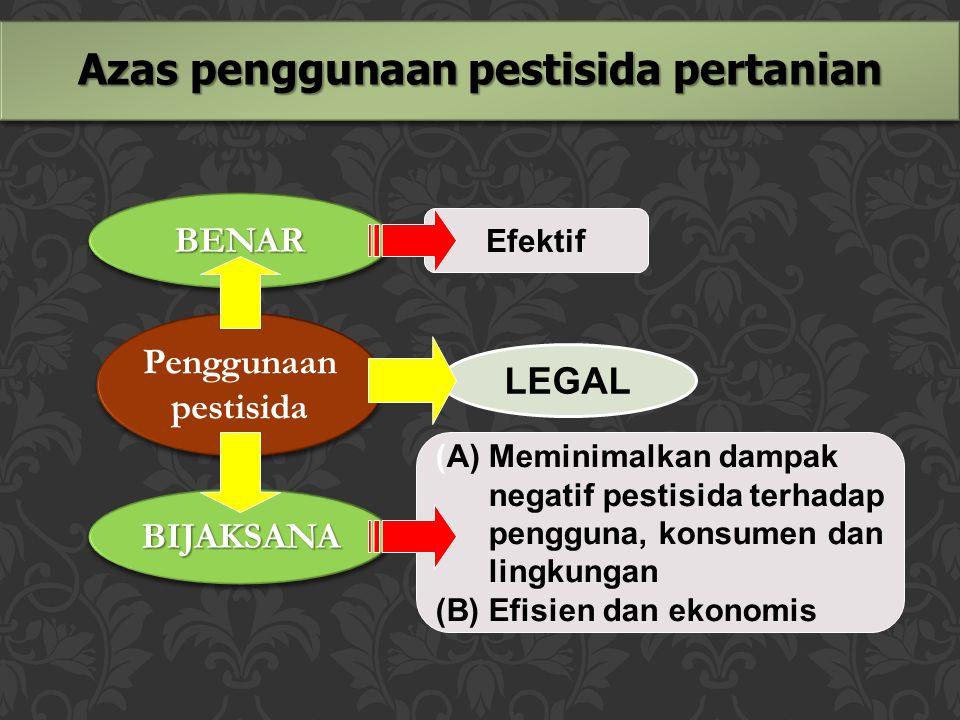 Azas penggunaan pestisida pertanian