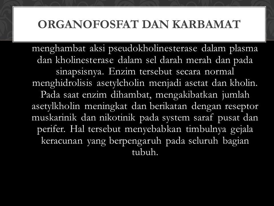 Organofosfat dan Karbamat