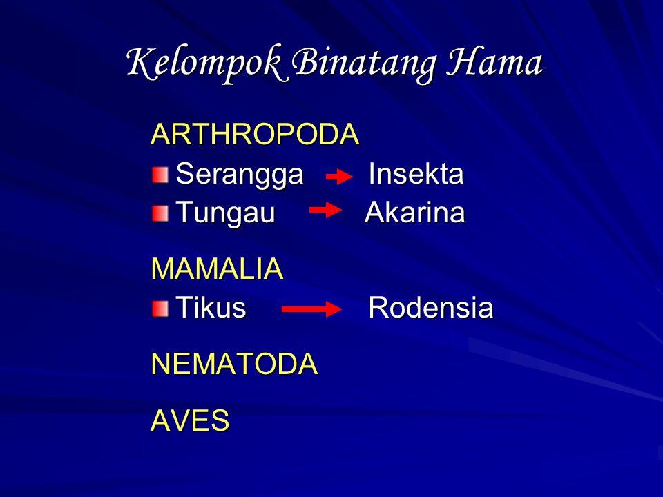 Kelompok Binatang Hama