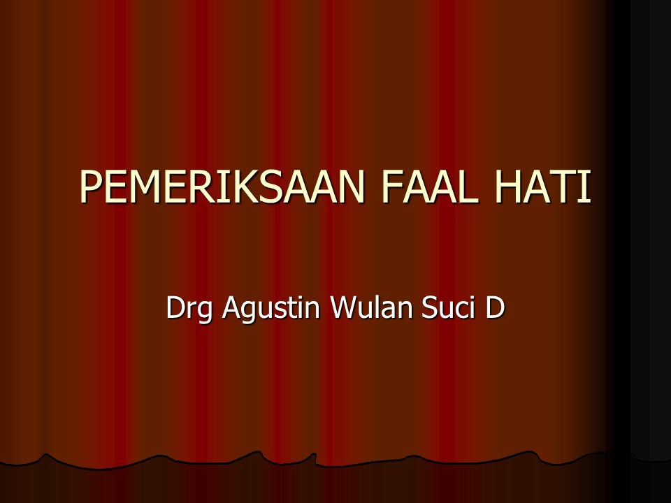 Drg Agustin Wulan Suci D