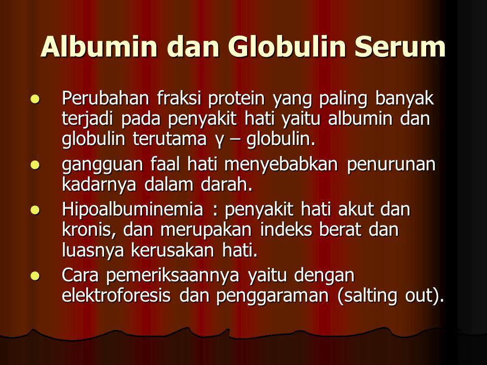 Albumin dan Globulin Serum