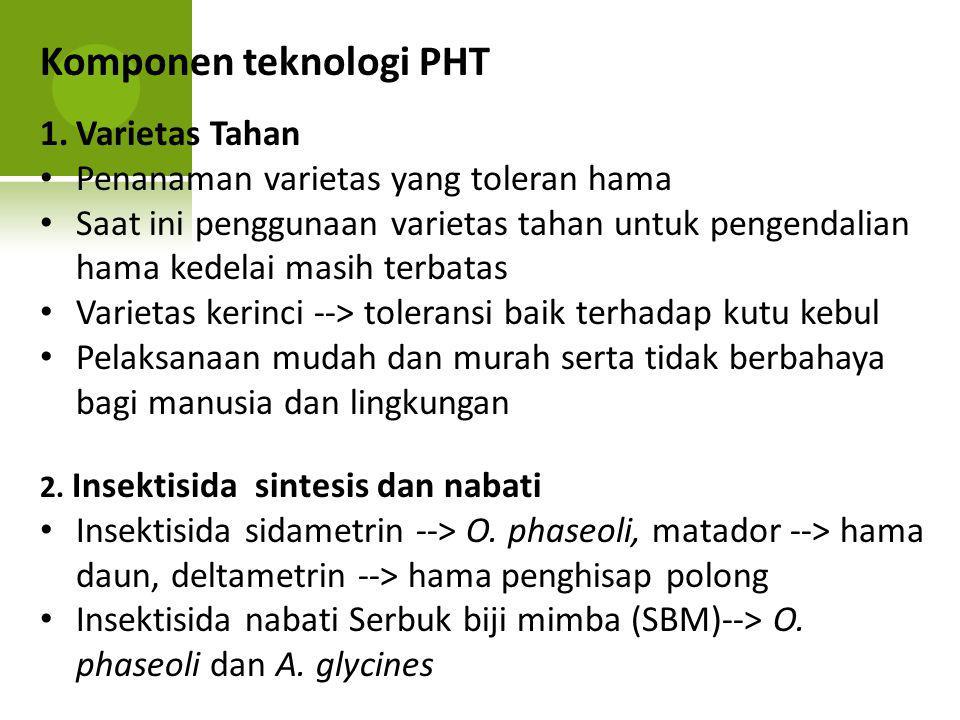 Komponen teknologi PHT
