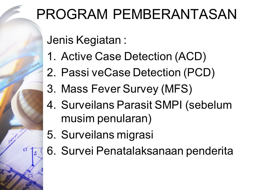 PROGRAM PEMBERANTASAN