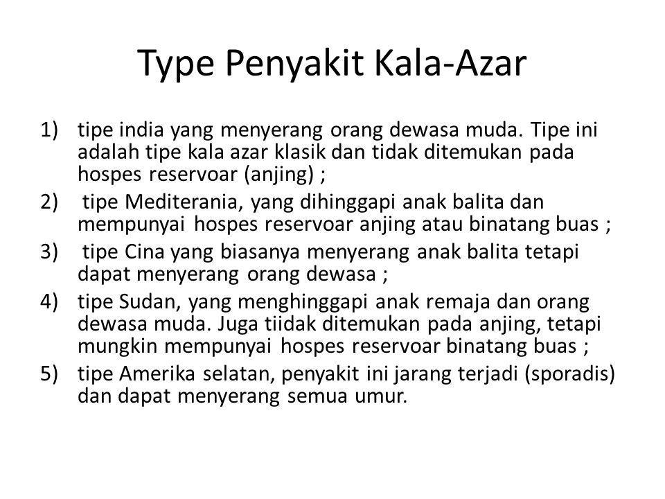 Type Penyakit Kala-Azar