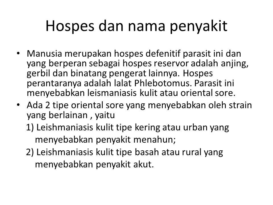 Hospes dan nama penyakit