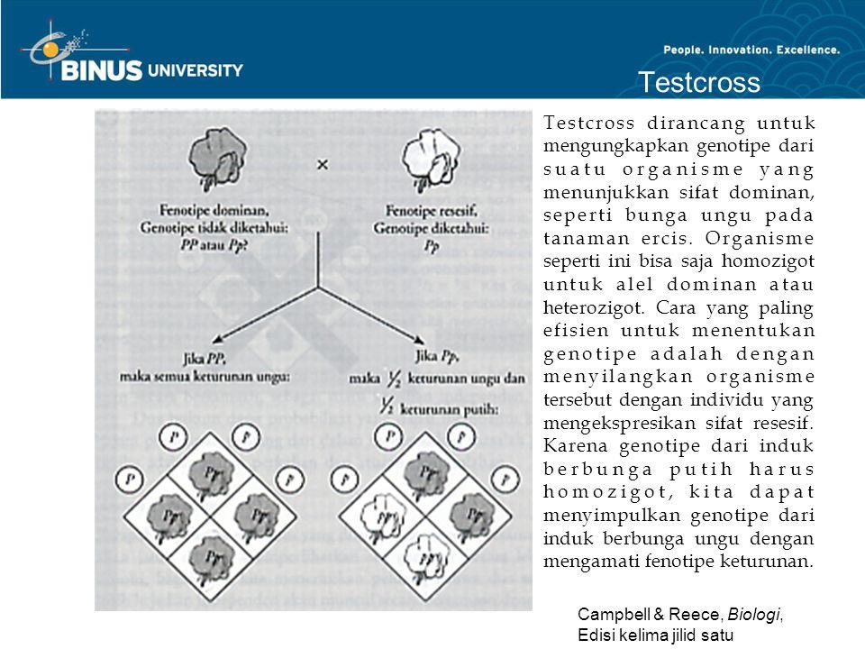 Testcross