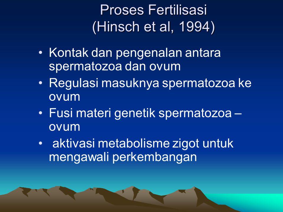 Proses Fertilisasi (Hinsch et al, 1994)