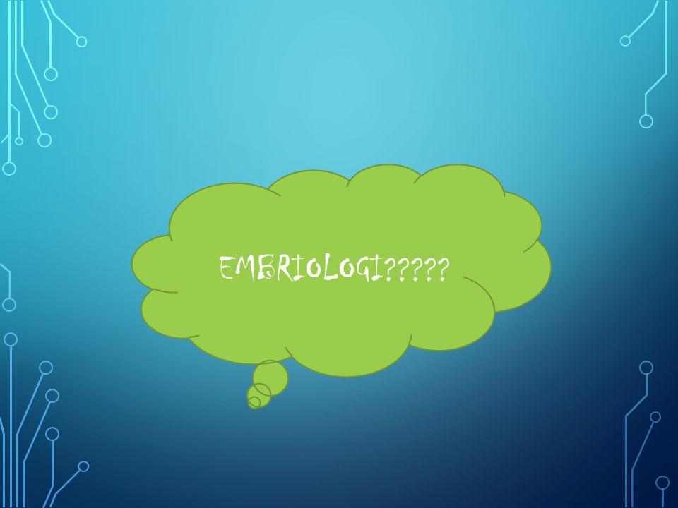EMBRIOLOGI