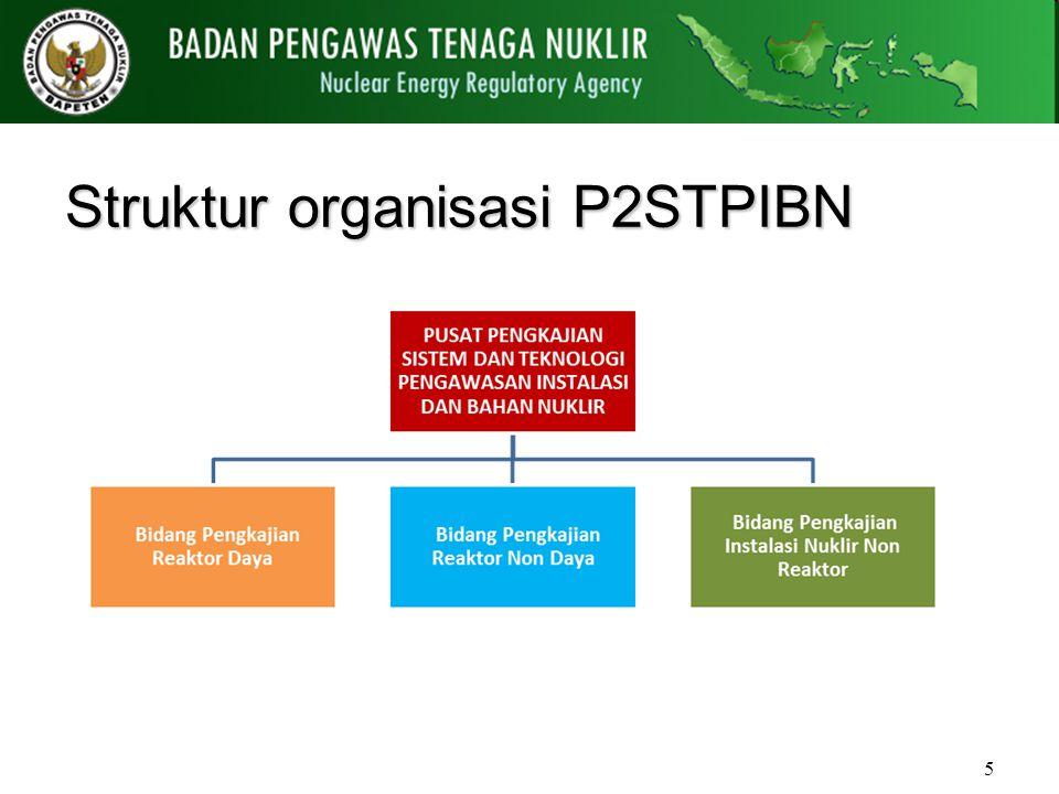 Struktur organisasi P2STPIBN