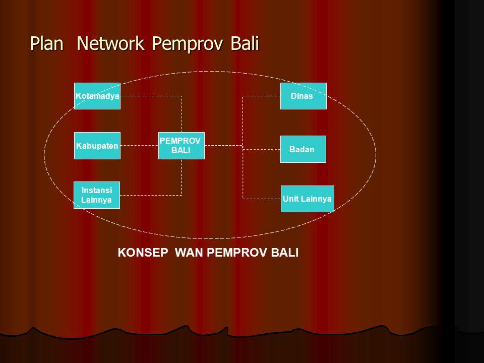 Plan Network Pemprov Bali